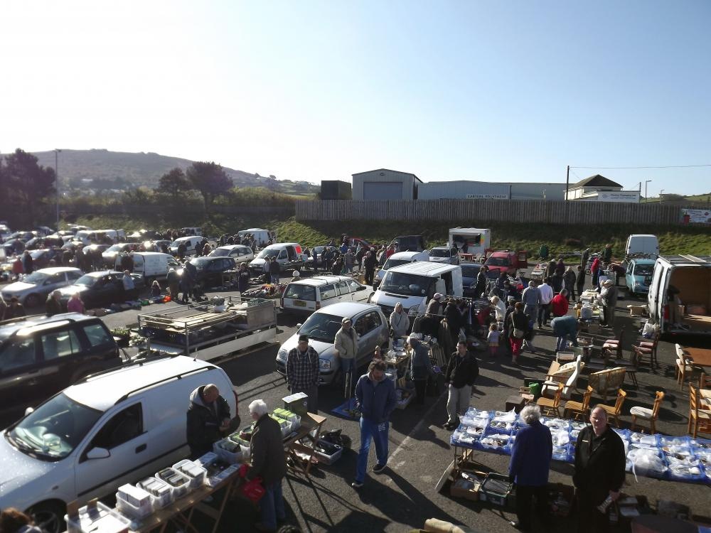 Car Boot Sales In Cornwall And Redruth Carn Brea Leisure Centre