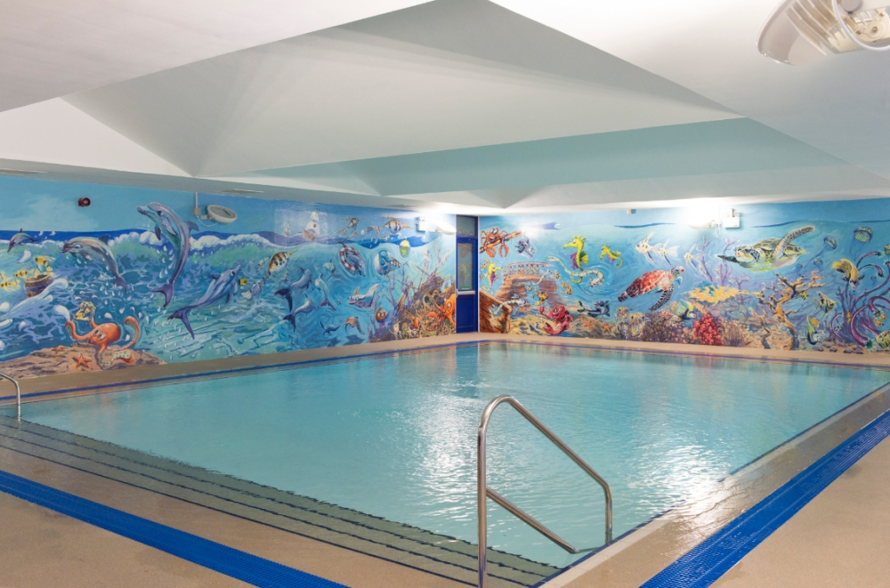 Swimming in cornwall and redruth carn brea leisure centre cornwall for Mark morris high school swimming pool